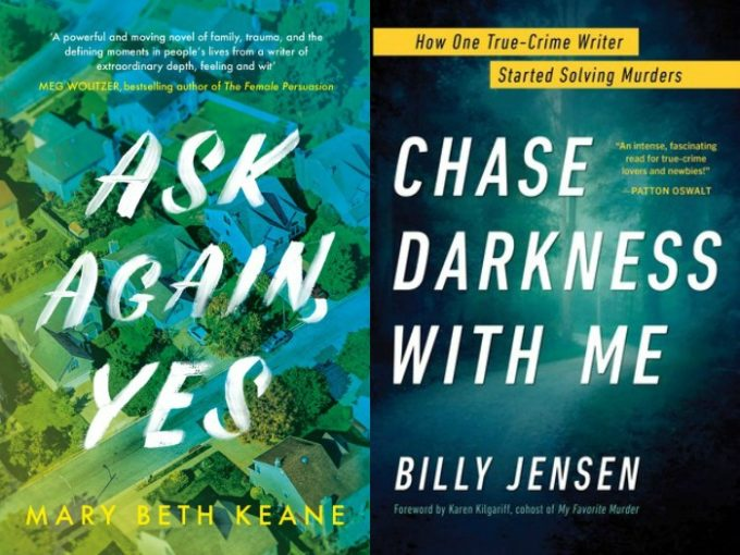 Novel Visits' My Week in Books for 5/13/19: Likely to Read Next - Ask Again, Yes by Mary Beth Keane and The Dog Stars by Billy Jensen