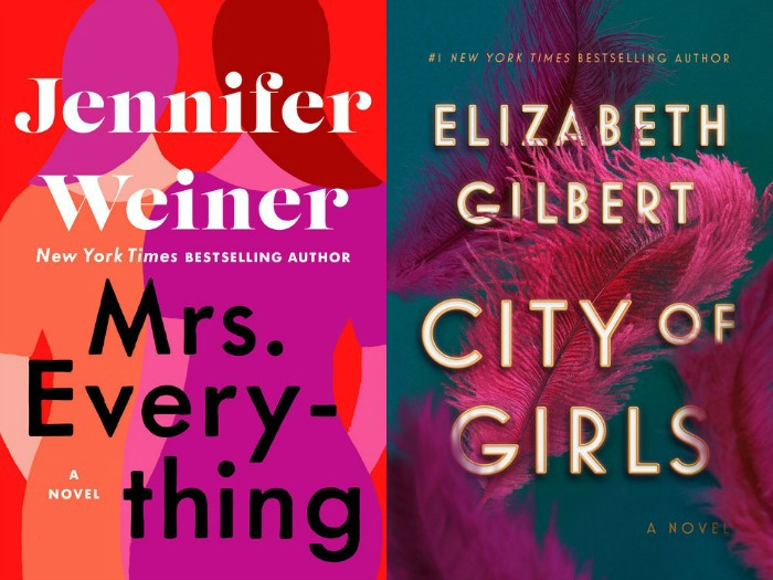 Novel Visits' My Week in Books for 6/10/19: Currently Reading Mrs. Everything by Jennifer Weiner and City of Girls by Elizabeth Gilbert