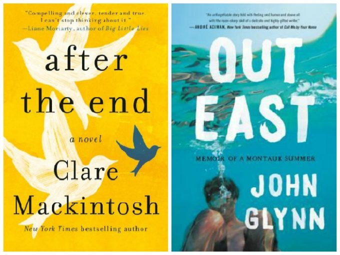 Novel Visits' My Week in Books for 6/17/19: Currently Reading - After the End by Claire Mackintosh and Out East by John Glynn