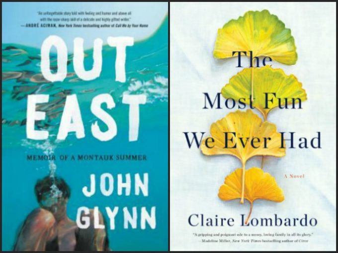 Novel Visits' My Week in Books for 6/24/19: Currently Reading - Out East by John Glynn and The Most Fun We Ever Had by Clare Lombardo