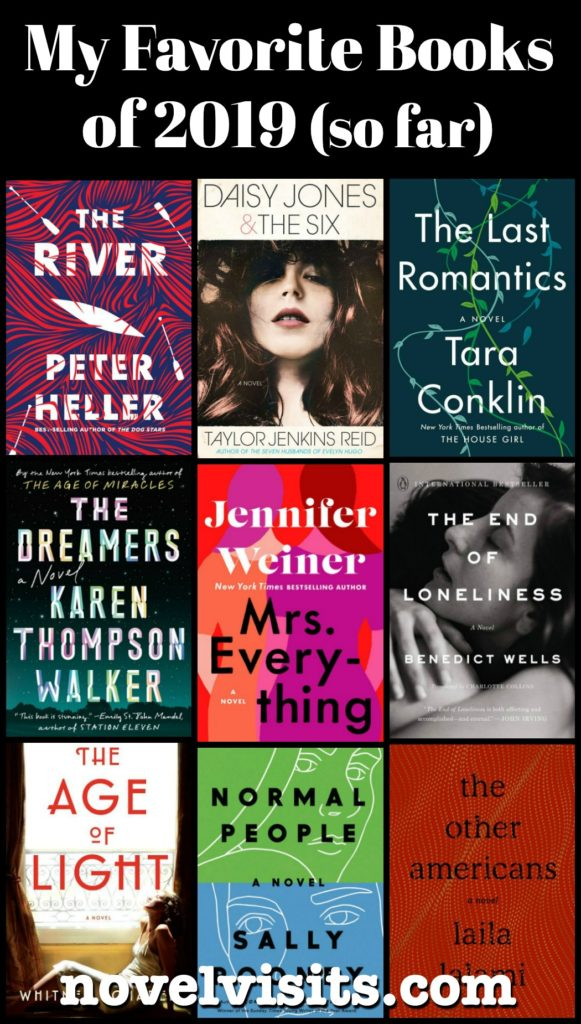 Novel Visits My Favorite Books of 2019 (so far) - A look at my favorite books from the first half of 2019.