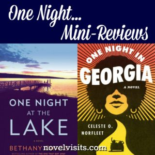 Novel Visits Mini-Reviews - One Night at the Lake by Bethany Chase & One Night in Georgia by Celeste O. Norfleet