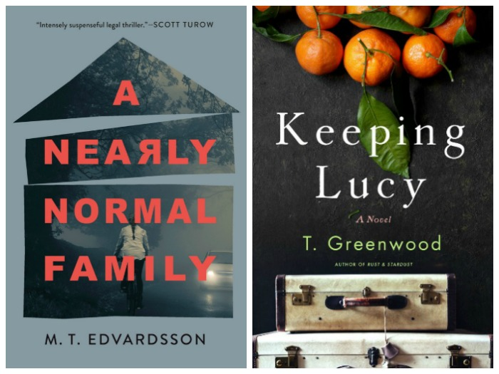 A Nearly Normal Family by M.T. Edvardsson and Keeping Lucy by T. Greenwood