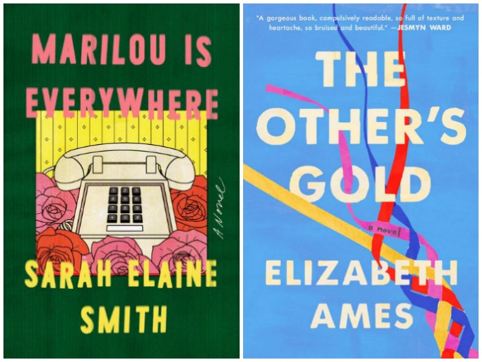 Marilou is Everywhere by Sarah Elaine Smith and The Other's Gold by Elizabeth Ames