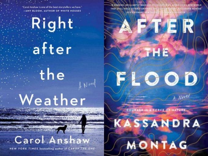 Right After the Weather by Carol Anshaw and After the Flood by Kassnadra Montag
