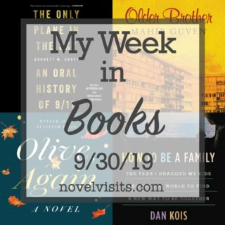 Novel Visits' My Week in Books for 9/30/19