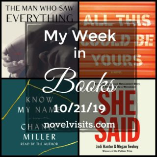 Novel Visits' My Week in Books for 10/21/19