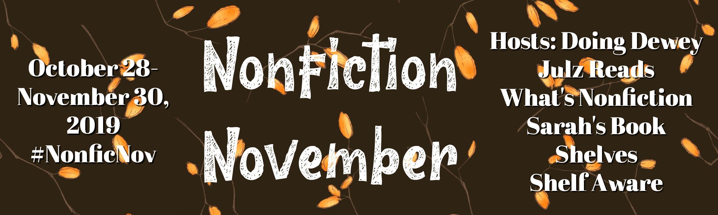 Nonfiction November 2019