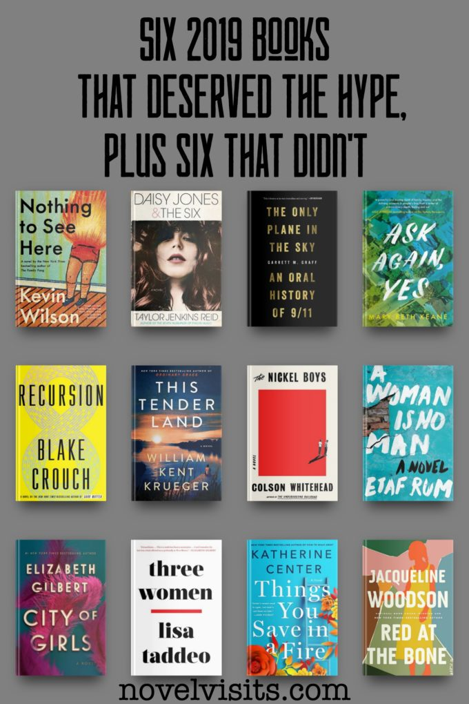 Novel Visits' Six 2019 Books That Deserved the Hype, Plus Six That Didn't