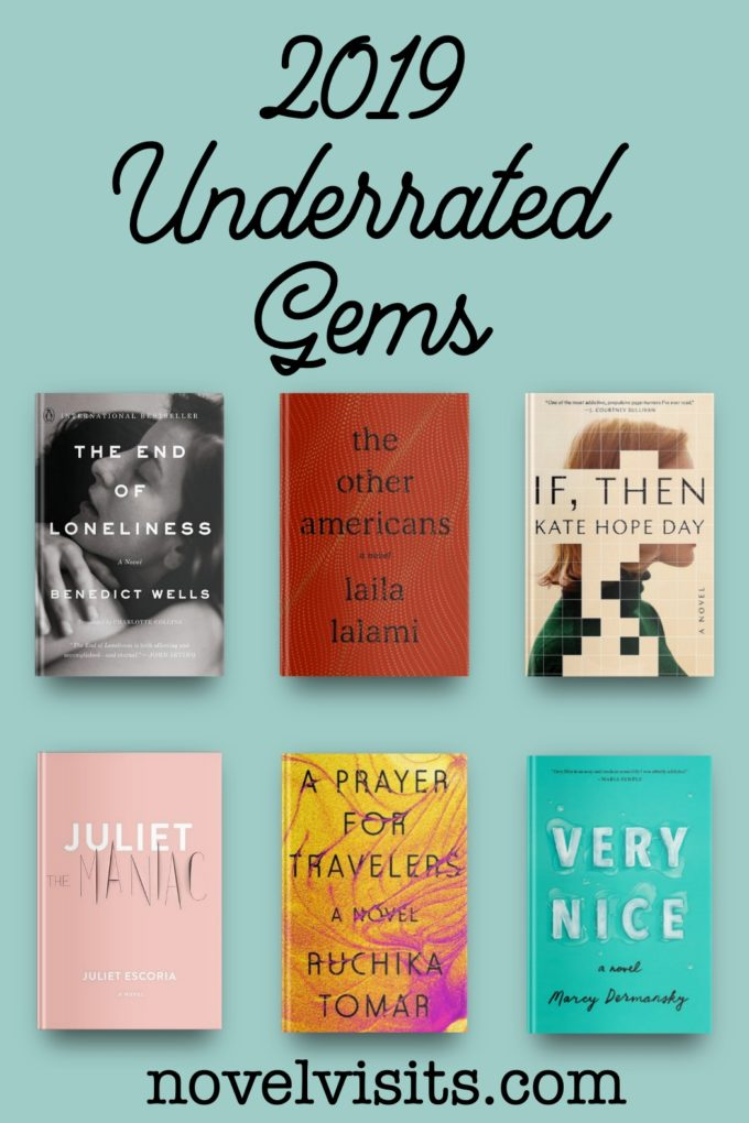 Novel Visits' Six 2019 Underrated Gems