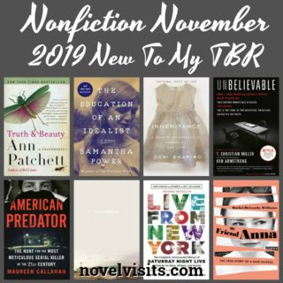 Novel Visits' Nonfiction November 2019 New To My TBR