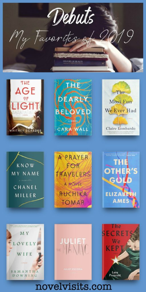 Novel Visits' DEBUTS - My Favorites of 2019