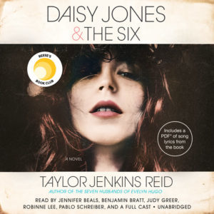 Novel Visits' AUDIOBOOKS ~ My Favorites from 2019 - Daisy Jones & The Six by Taylor Jenkins Reid