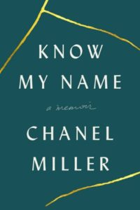 Novel Visits Best Books of 2019 - Know My Name by Chanel Miller