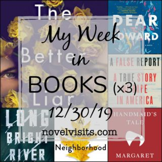 Novel Visits' My Week in Books for 12/30/19