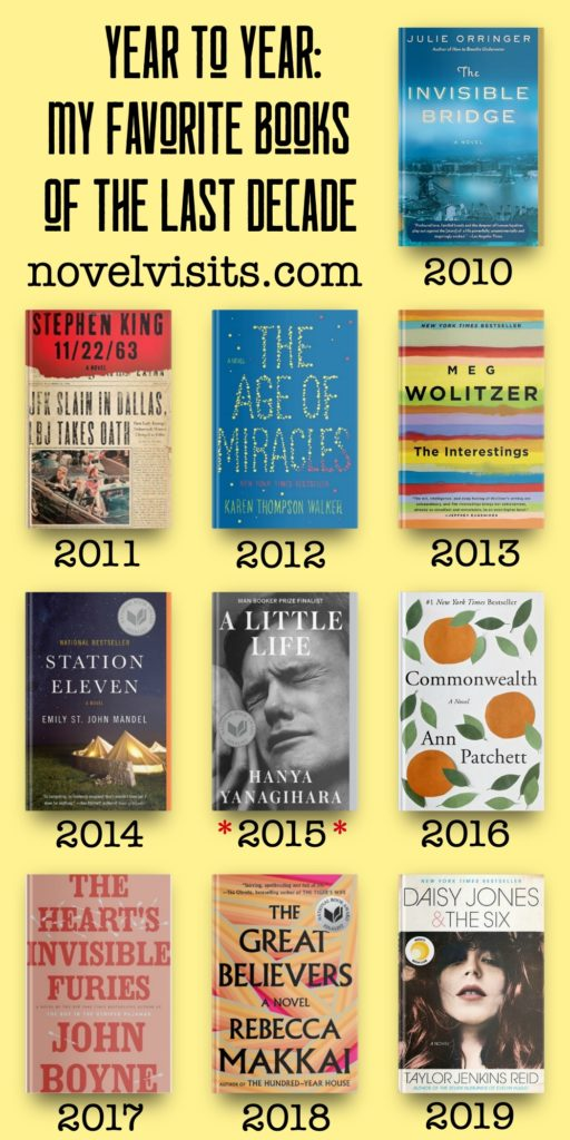 Novel Visits - Year to Year: My Favorite Books of the Last Decade