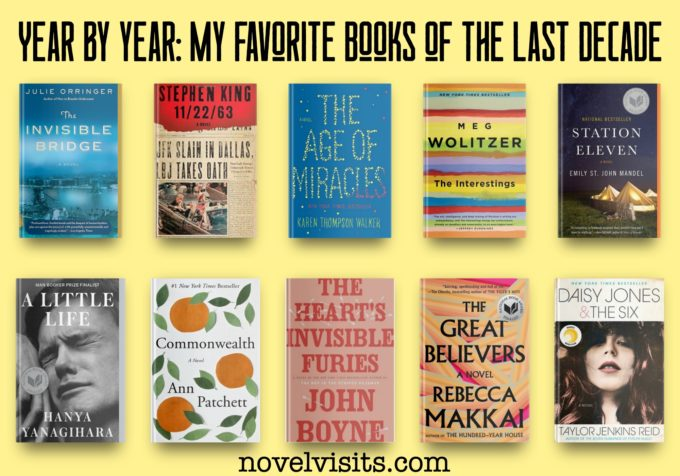 Novel Visits - Year by Year: My Favorite Books of the Last Decade