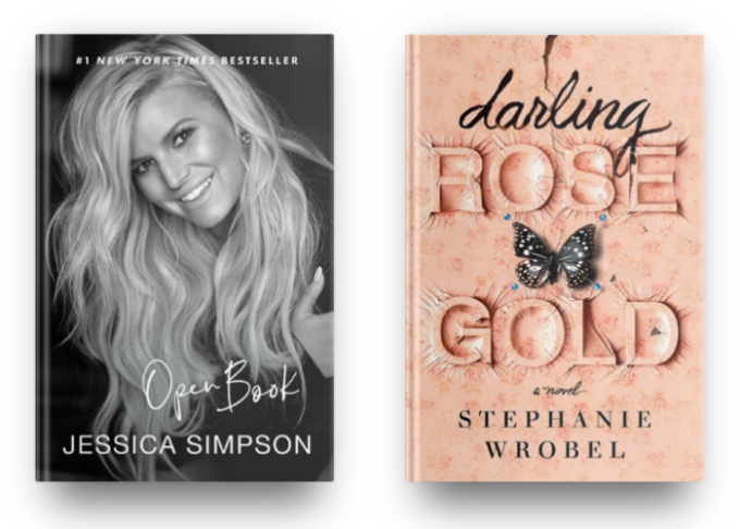 Open Book by Jessica Simpson and Darling Rose Gold by Stephanie Wrobel