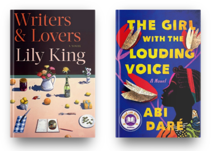 Writers & Lovers by Lily King and The Girl With the Louding Voice by Abi Dare