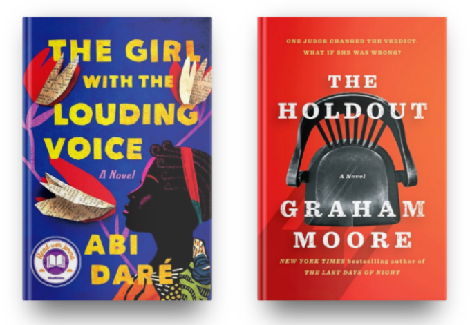 The Girl With the Louding Voice by Abi Dare and The Holdout by Graham Moore