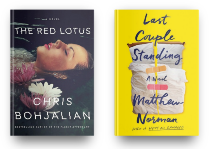 The Red Lotus by Chris Bohjalian and Last Couple Standing by Matthew Norman