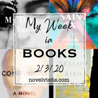 Novel Visits' My Week in Books for 2/3/20