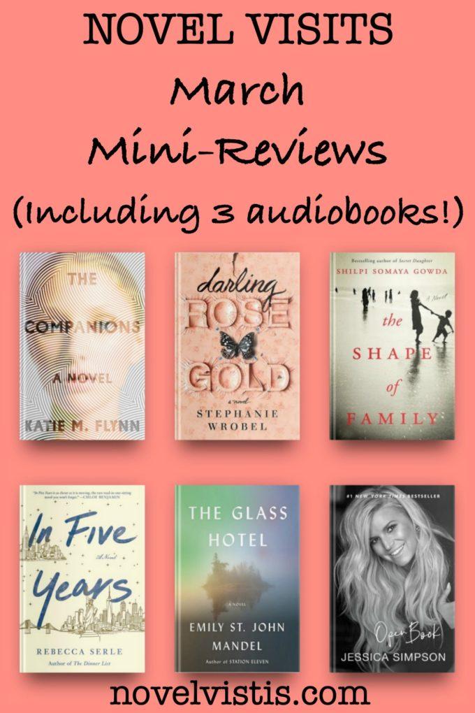 Novel Visits' March 2020 Mini-Reviews