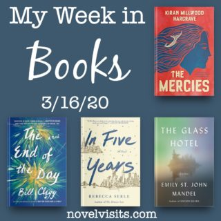 Novel Visits' My Week in Books for 3/16/20