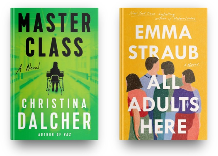 Master Class by Christina Dalcher and All Adults Here by Emma Straub