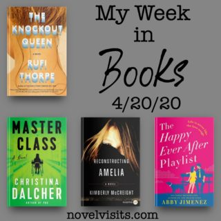 Novel Visits' My Week in Books for 4/20/20