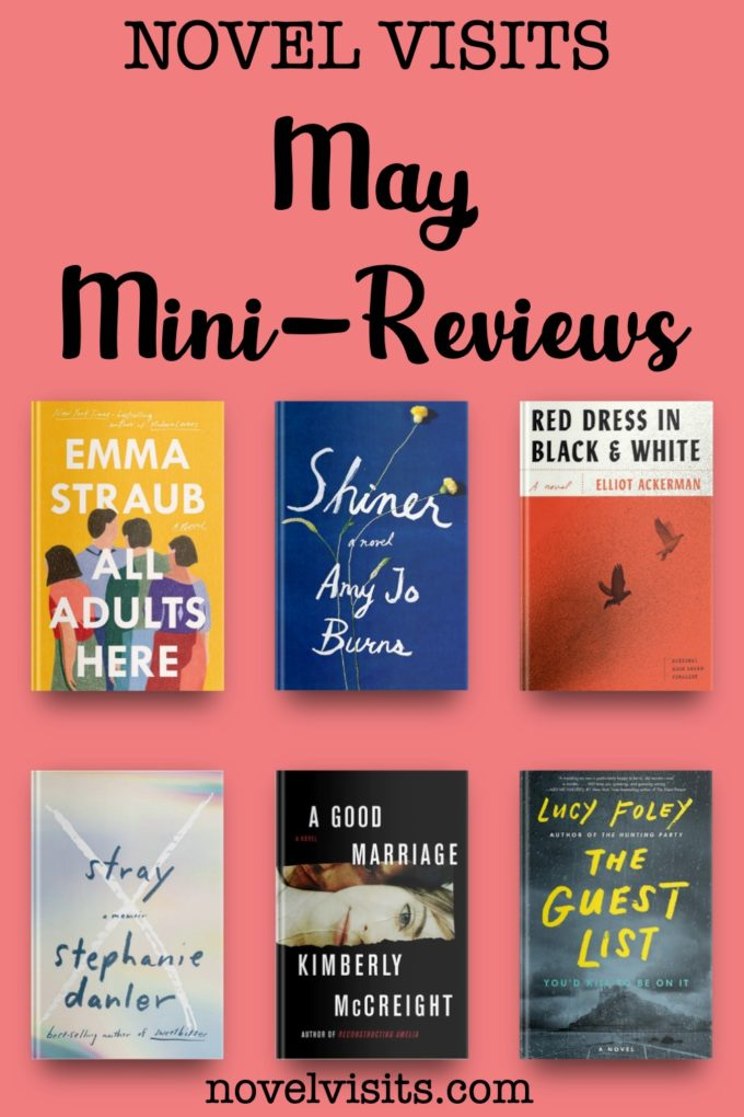 Novel Visits' May Mini-Reviews