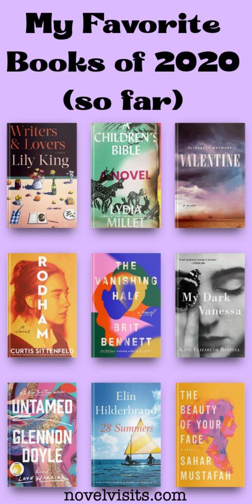 Novel Visits' My Favorite Books of 2020 (so far)