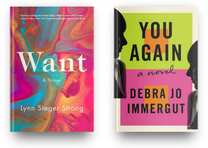Want by Lynn Steger Strong and You Again by Debra Jo Immergut