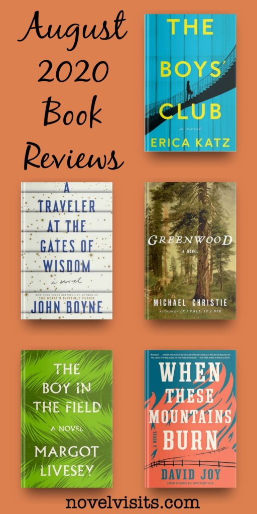 August 2020 Book Reviews - Five Books to Read Now!