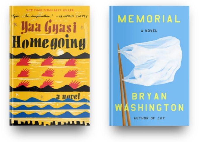 Homegoing by Yaa Gyasi and Memorial by Bryan Washington