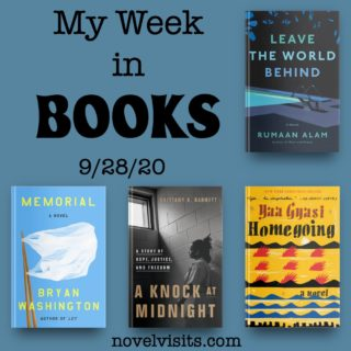 Novel Visits' My Week in Books for 9/28/20
