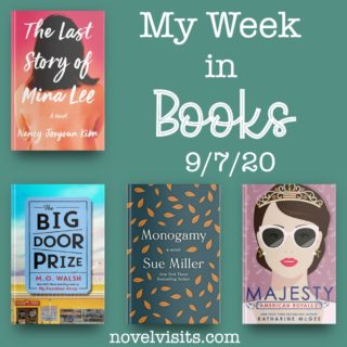 Novel Visits' My Week in Books for 9/7/20