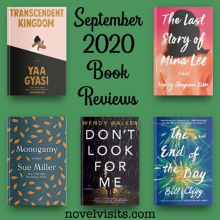 Novel Visits' September 2020 Book Reviews