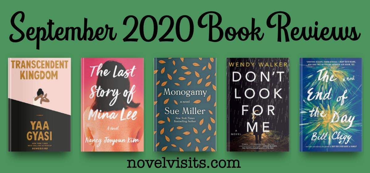 Novel Visits' September 2020 Book Reviews