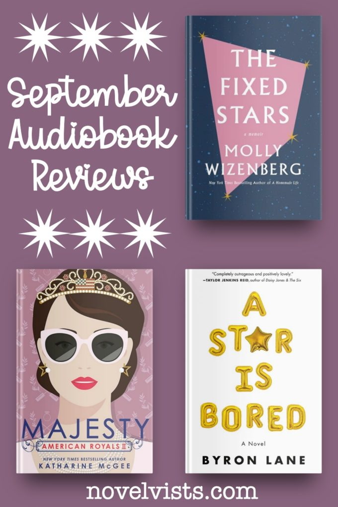 Novel Visits' September Audiobook Reviews