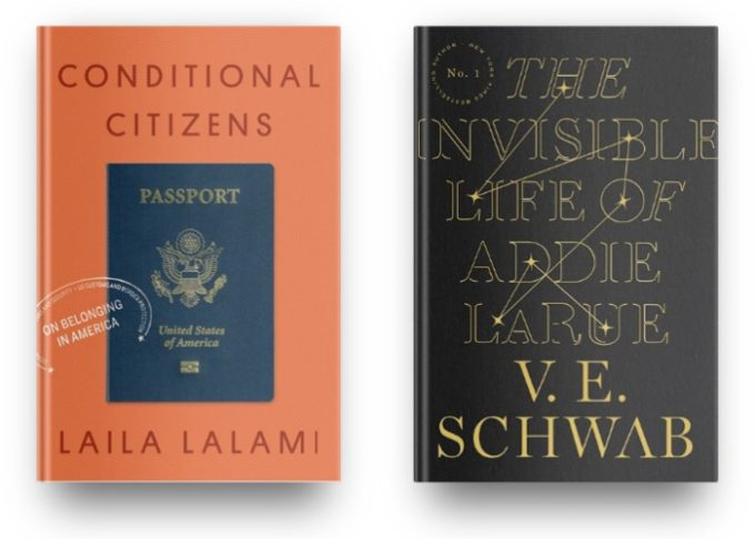 Conditional Citizens by Laila Lalami and The Invisible Life of Addie LaRue
