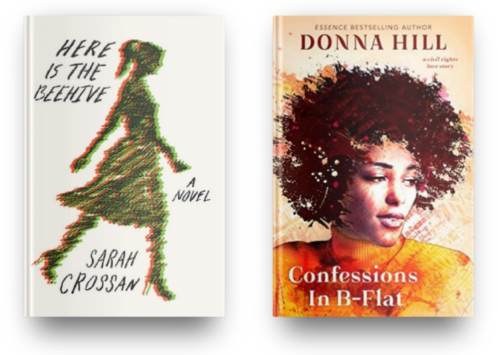 Here is the Beehive by Sarah Crossan and Confessions in B-Flat by Donna Hill