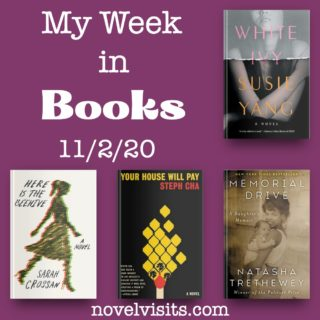 Novel Visits' My Week in Books for 11/2/20