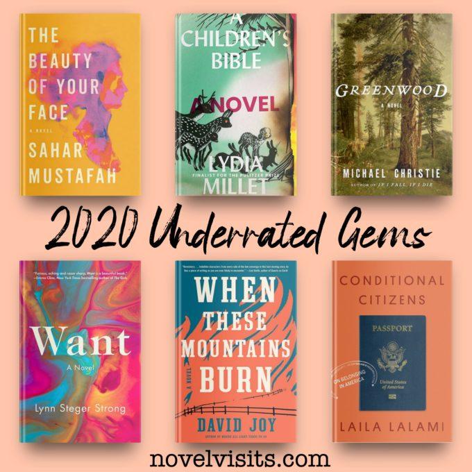 Novel Visits' 2020 Underrated Gems