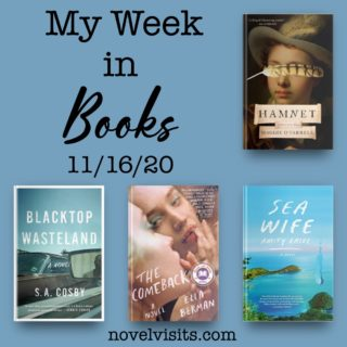 Novel Visits' My Week in Books for 11/16/20