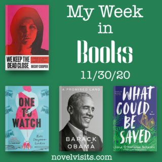 Novel Visits' My Week in Books for 11/30/20