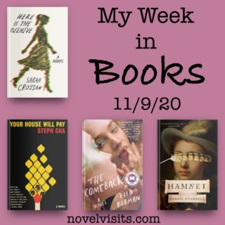 Novel Visits' My Week in Books for 11/9/20