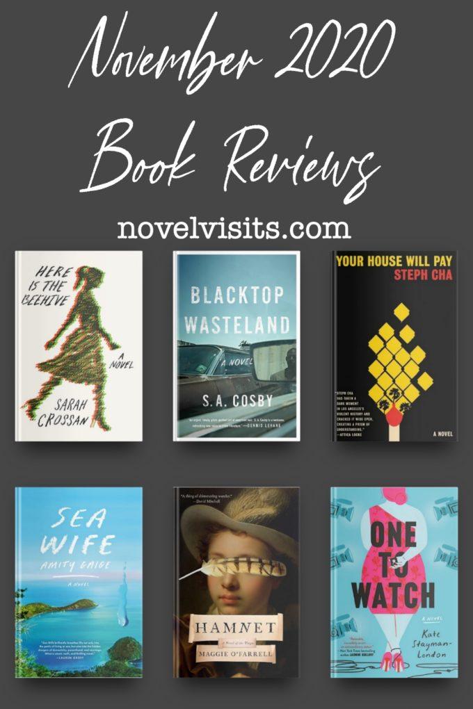 Novel Visits' November 2020 Book Reviews