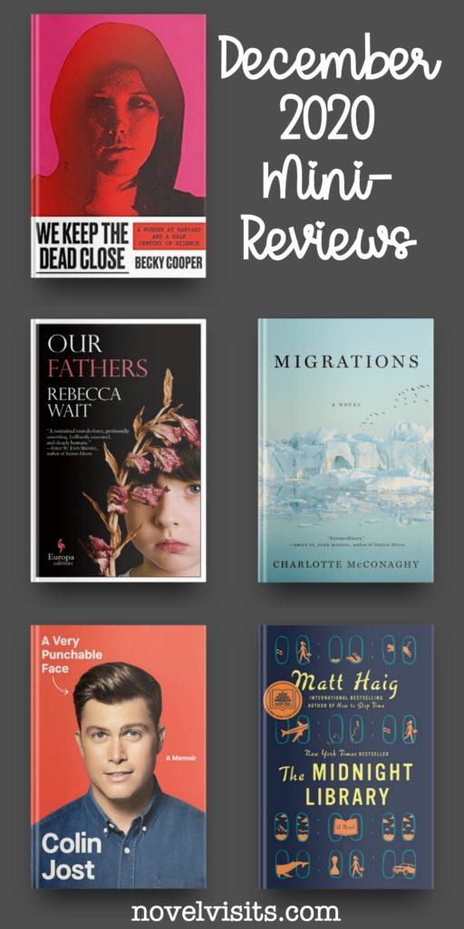 Novel Visits' December 2020 Mini-Reviews