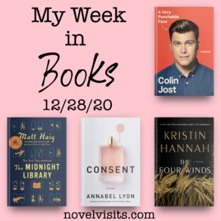 Novel Visits' My Week in Books for 12/28/20
